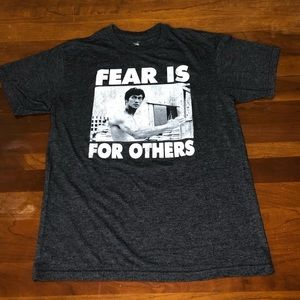 "Bruce Lee ""Fear is for others"" tee"